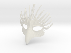 Splicer Mask Bird in White Natural Versatile Plastic