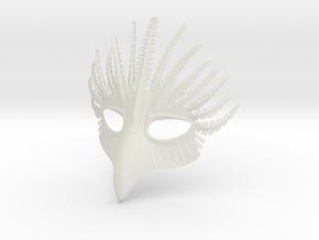 Splicer Mask Bird in White Natural Versatile Plastic
