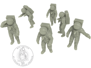 Apollo 11 Astronauts / 1:144 in Smoothest Fine Detail Plastic