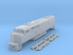 N Scale SD40-2f in Frosted Ultra Detail