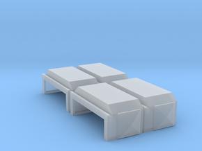 EMD Short Air Filter Hatch (N - 1:160) 4X in Smoothest Fine Detail Plastic