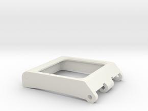 Helmet Rangefinder Viewfinder in White Natural Versatile Plastic