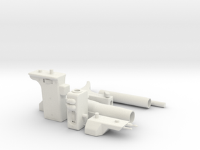 Pre-Pro #2/Promo Sling Gun in White Natural Versatile Plastic