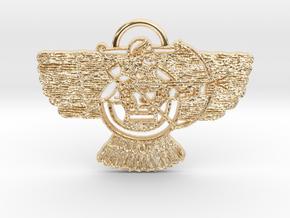 Ashur Pendant in 14K Yellow Gold