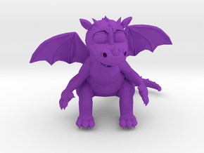 TheSilliestDragon3D in Purple Strong & Flexible Polished