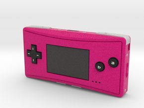 1:6 Nintendo Game Boy Micro (Pink) in Full Color Sandstone