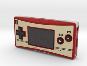 1:6 Nintendo Game Boy Micro (Famicom) in Full Color Sandstone