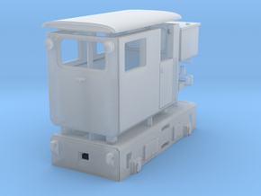 Tunneling battery locomotive H0e in Frosted Ultra Detail