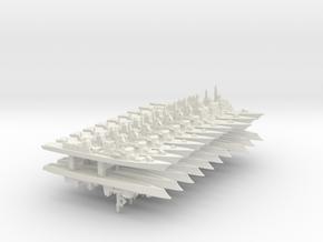 JMSDF Destroyer Pack 1 (WSF), 1/3000 in White Natural Versatile Plastic