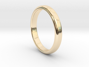 Ring Band Size 6 in 14k Gold Plated
