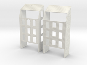 NVIM42 - City buildings in White Natural Versatile Plastic