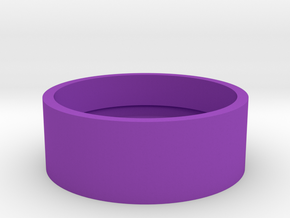 Slot Boston Box USA Quarter in Purple Processed Versatile Plastic