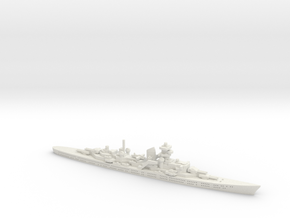 Blucher (Hipper Class) 1/1800 in White Natural Versatile Plastic