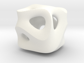 C-Ground Cube in White Strong & Flexible