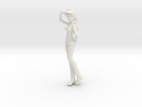 1/12 Race Queen 01 in White Natural Versatile Plastic