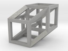 Hypercube in Aluminum