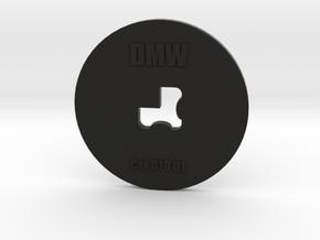 Clay Extruder Die: Corner 010 01 in Black Natural Versatile Plastic