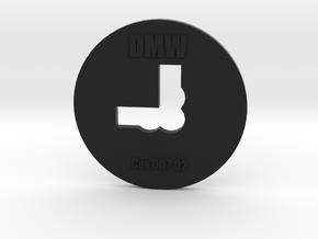 Clay Extruder Die: Corner 007 02 in Black Natural Versatile Plastic