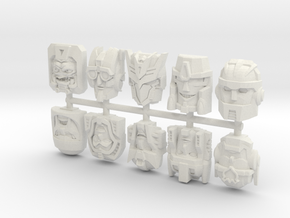 Titans Return Sampler Pack in White Natural Versatile Plastic