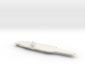 USS CVN-65 Enterprise (1962), 1/1800 in White Natural Versatile Plastic