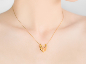 LONELY WINGS Hearty in 18k Gold Plated