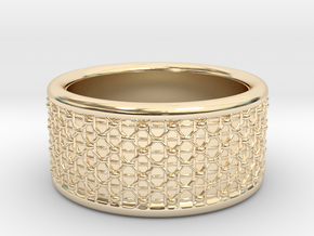 Ring 16.9mm in 14K Yellow Gold