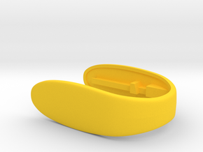 KEY FOB vs5  in Yellow Processed Versatile Plastic