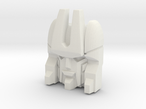 Loafer Faceplate (Titans Return) in White Strong & Flexible
