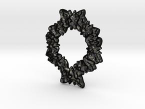 soft swarm in Matte Black Steel