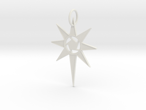 Thareon 'The North Star' in White Natural Versatile Plastic