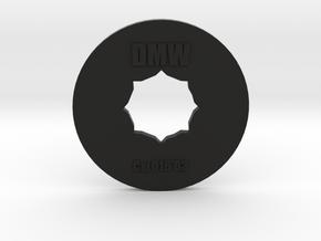 Clay Extruder Die: Coil 016 03 in Black Natural Versatile Plastic