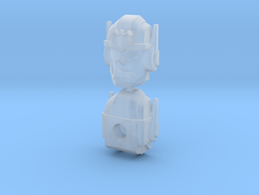 Chase Combiner Wars Head (4mm ball socket) in Frosted Ultra Detail