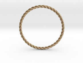 "STU Light Ring 1.6"" in Polished Gold Steel"