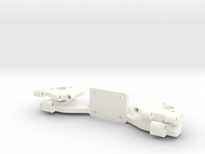 PHANTOM 2 - LEG HINGE PART 2 in White Processed Versatile Plastic