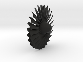 Turbine alliance 40mm in Black Natural Versatile Plastic