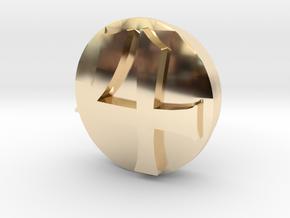 Sailor Mooon Transformation Pen - Jupiter in 14k Gold Plated Brass