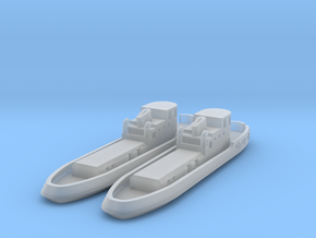 005G Tug boat pair - 1/600 in Smooth Fine Detail Plastic