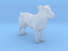 1/22 Jack Russell Terrier Standing in Smooth Fine Detail Plastic