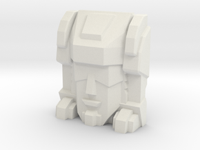 Trizor Faceplate (Titans Return) in White Strong & Flexible