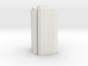 Custom Monopoly Hotel Version 2 (3cm tall) in White Natural Versatile Plastic