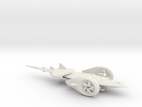 SolarJet flying car - Concept Design Quest in White Natural Versatile Plastic