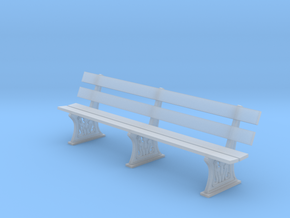 GWR Bench 4mm scale full in Frosted Ultra Detail
