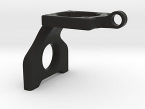 B6 Laydown 25-30mm Fan Mount in Black Natural Versatile Plastic