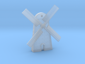 Magnet Windmill in Smooth Fine Detail Plastic