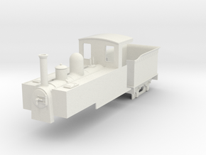 On18 tender/tank loco  in White Natural Versatile Plastic