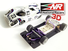3D chassis - Fly Porsche 917 K / 917 LH - (SW) - 1 in Black Strong & Flexible