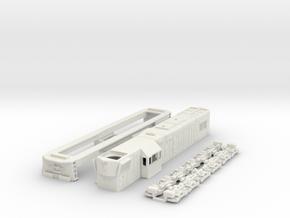 GR12 FCAB Version HO scale in White Natural Versatile Plastic