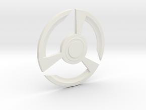 Ant-Man Pym Discs in White Natural Versatile Plastic