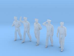 1-24 USN Officers Set1-16 in Smooth Fine Detail Plastic