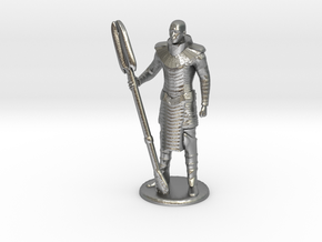 Jaffa Standing Guard -20 mm in Natural Silver